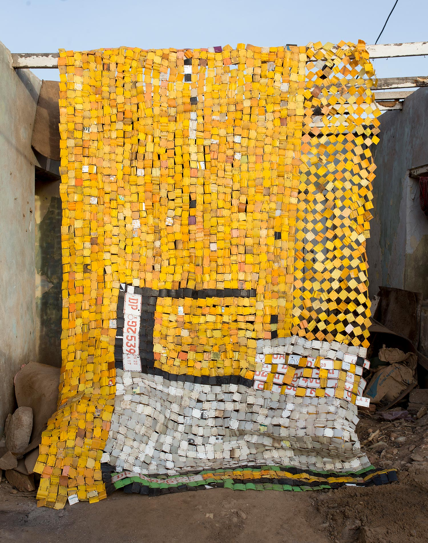 Artwork by Serge Attukwei Clottey VKL2019